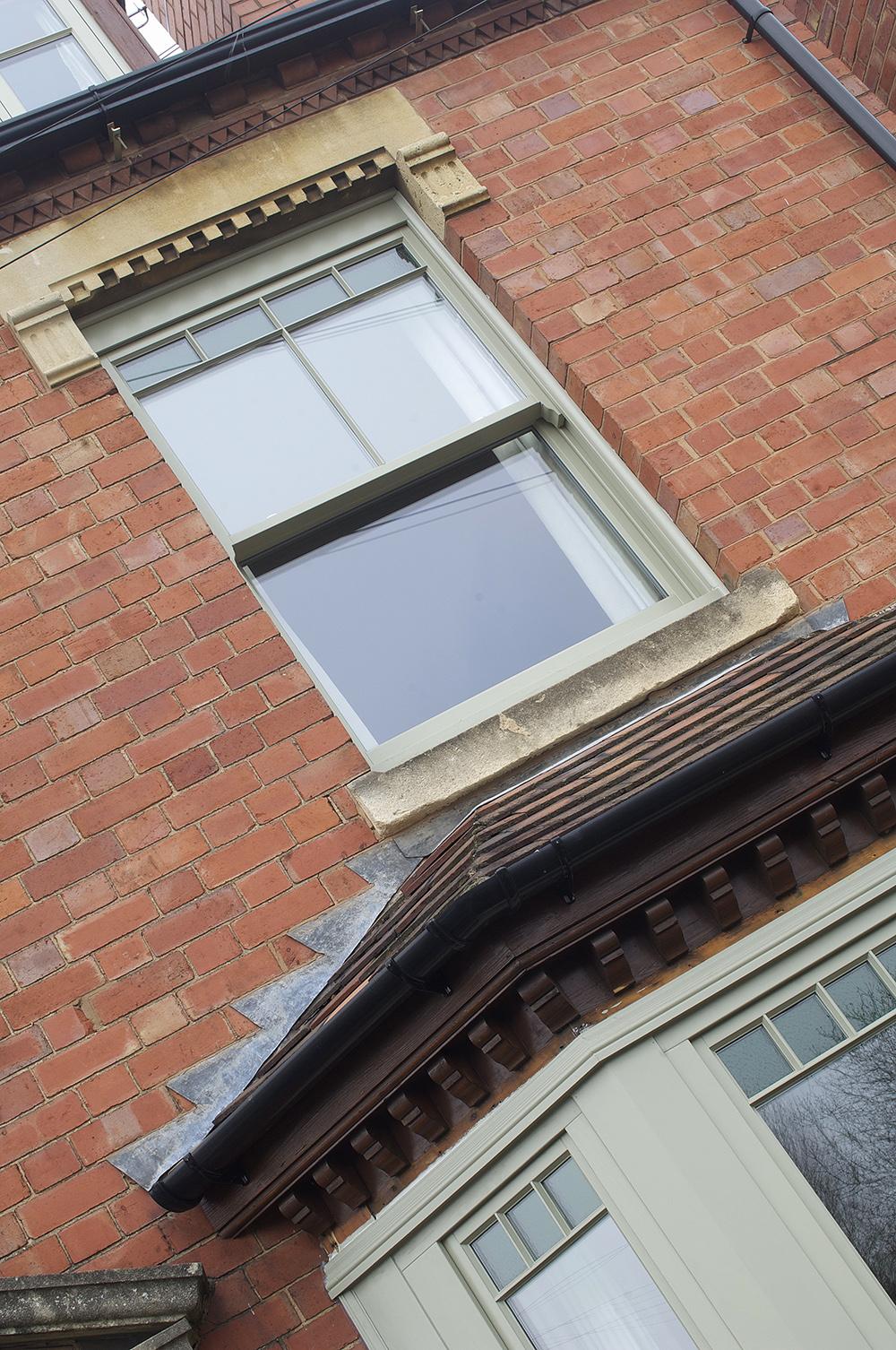 Bewdley sash window