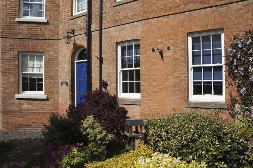 Knowles warwickshire sash window door