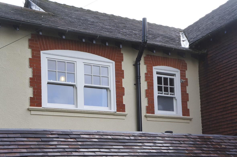 Wooden sash window installation Leamington Spa