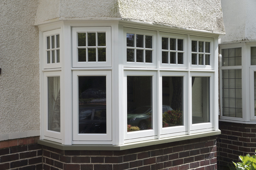 Walsh harborne deco casement bay window