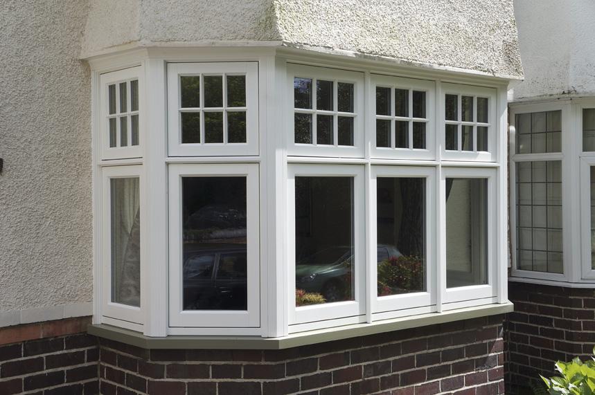 Walsh harborne deco casement bay window