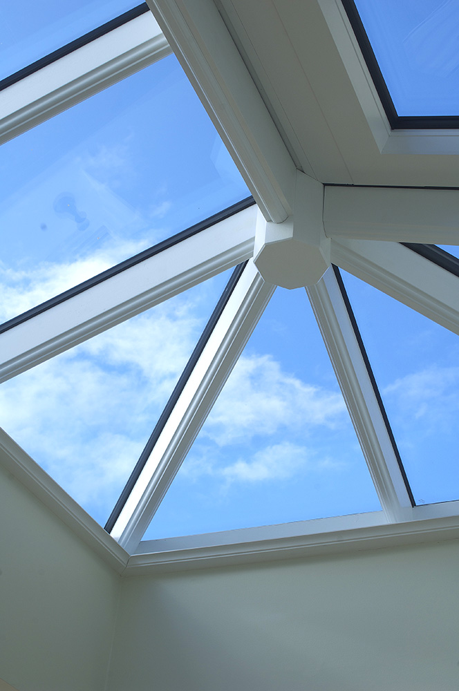 orangery timber roof lantern