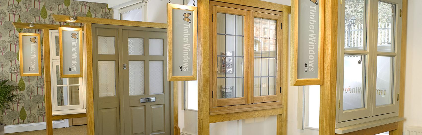 harborne sash windows showroom